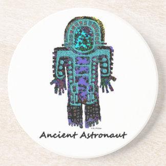 Alter Astronaut Getränkeuntersetzer