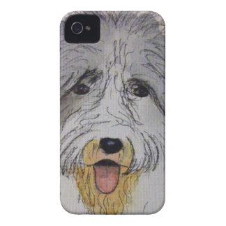 Alter englischer Schäferhund-Welpe Case-Mate iPhone 4 Hülle
