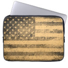 Alter Flagge-Schmutz Laptop Sleeve
