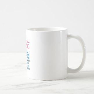 Alter ist nicht von Bedeutung Kaffeetasse