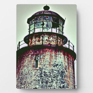 Alter Leuchtturm Fotoplatte