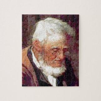 Alter Mann mit Bart Puzzle