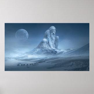Alter Mann-Winter Poster