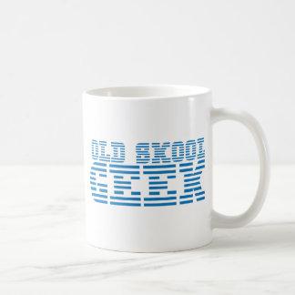 ALTER SKOOL GEEK-80er-Computerentwurf Tasse