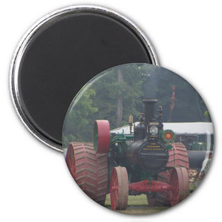 Alter Traktor Runder Magnet 5,7 Cm