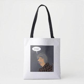 Ältere Hand gezeichnete Tasche