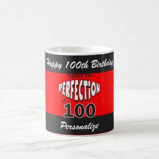 Altern Sie zur Perfektion bei 100% pipe% 100. Kaffeetasse