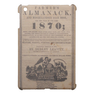 Altes Bauers-Almanach19. jahrhundert Hülle Für iPad Mini