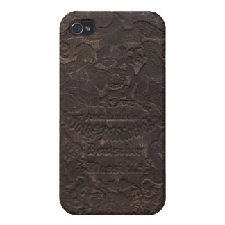 Altes Bucheinband #1 iPhone 4 iPhone 4 Cover
