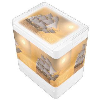 Altes Handelsschiff - 3D übertragen Igloo Kühlbox