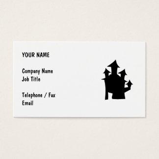 Altes Haus mit Türmen Visitenkarte