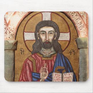 Altes Jesus-Mosaik Mousepads