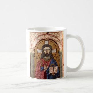 Altes Jesus-Mosaik Tasse