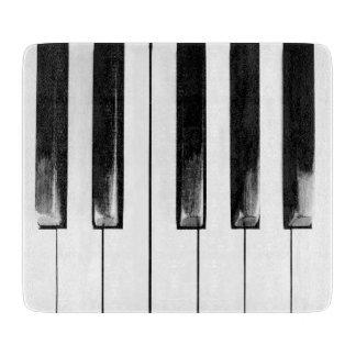 Altes Klavier befestigt lustiges cooles Schneidebrett