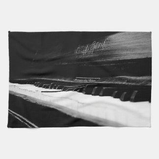Altes Klavier Handtuch