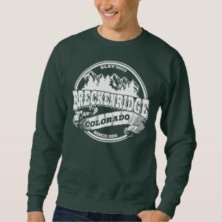 Altes Kreis-Weiß Breckenridges Sweatshirt
