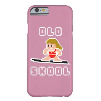 Altes surfendes Skool (blasse Frau, WEISS) Barely There iPhone 6 Hülle