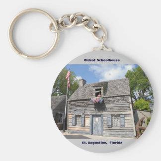 Älteste Schulhaus-St- Augustineflorida Schlüsselanhänger