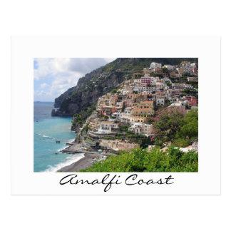 Amalfi-Küstendorf Positano Weißpostkarte Postkarten