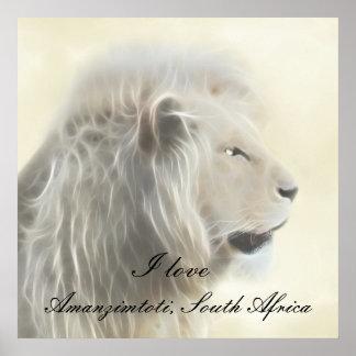 Amanzimtoti Südafrika Poster