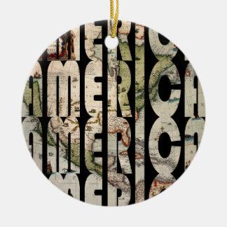 america1610 keramik ornament
