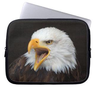 AMERICAN EAGLE ~ Foto Jean-Louis Glineur Computer Sleeve Schutzhüllen