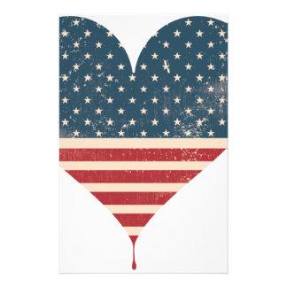 AMERICAN-HEART BRIEFPAPIER