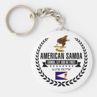 American Samoa Schlüsselanhänger