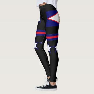 American- Samoaflagge Leggings
