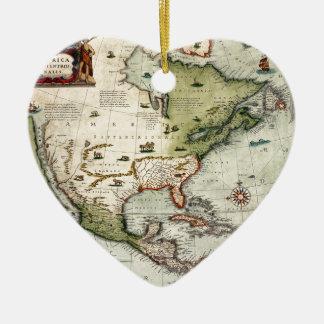 Amerika 1610 keramik ornament
