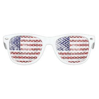 Amerika scherzt die Party-Schatten, weiß Kinder Sonnenbrillen