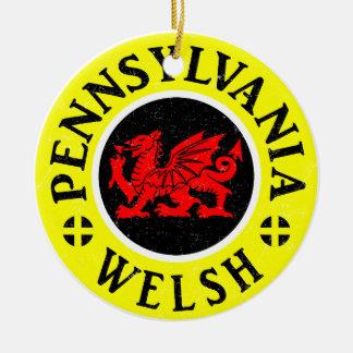 Amerikaner-Verzierung Pennsylvanias Waliser Keramik Ornament