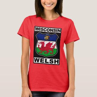 Amerikaner Wisconsins Waliser T-Shirt
