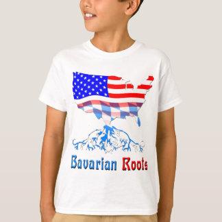 Amerikanische bayerische Wurzeln T-Shirt