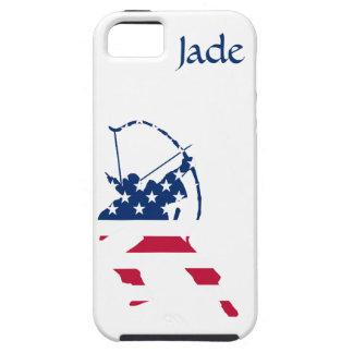 Amerikanische Bogenschützeflagge Etui Fürs iPhone 5