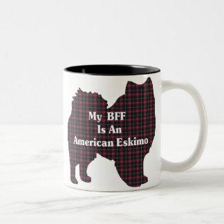 Amerikanische Eskimohund-BESTE FREUNDIN Tasse