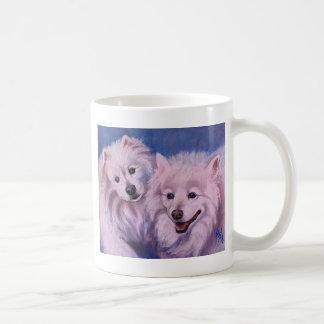 Amerikanische Eskimohunde Tasse