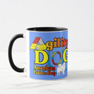 Amerikanische EskimohundeAgility-Geschenke Tasse