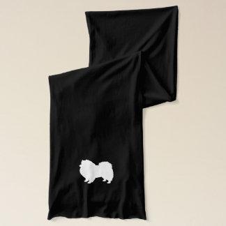 Amerikanische EskimohundeSilhouette Schal