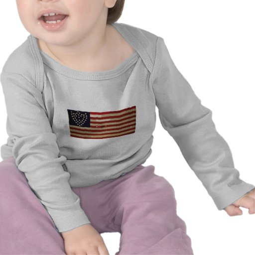Amerikanische Flagge mit 6 Sternen Shirt