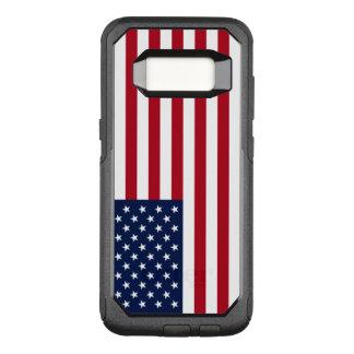 Amerikanische Flagge OtterBox Commuter Samsung Galaxy S8 Hülle