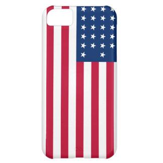 Amerikanische Flagge patriotische iPhone 5C Hüllen