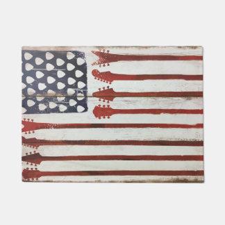 amerikanische Flagge patriotische Türmatte