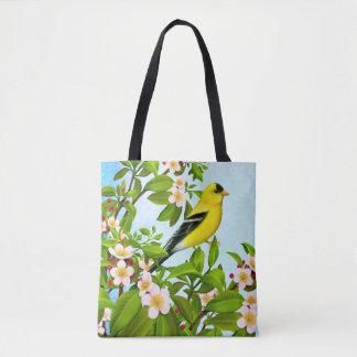 Amerikanische Goldfinch-Vogel-Taschen-Tasche