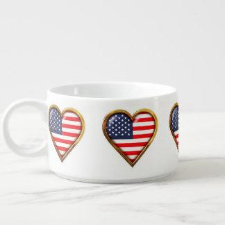 Amerikanische Herzen Kleine Suppentasse
