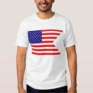 Amerikanische Kampf-Flagge T-Shirt