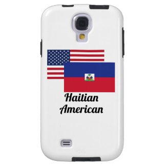 Amerikanische und haitianische Flagge Galaxy S4 Hülle
