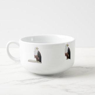 Amerikanische Weißkopfseeadler Große Suppentasse