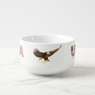 Amerikanischer Adler Große Suppentasse