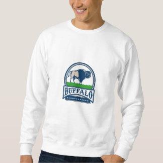 Amerikanischer Bison Buffallo Sweatshirt